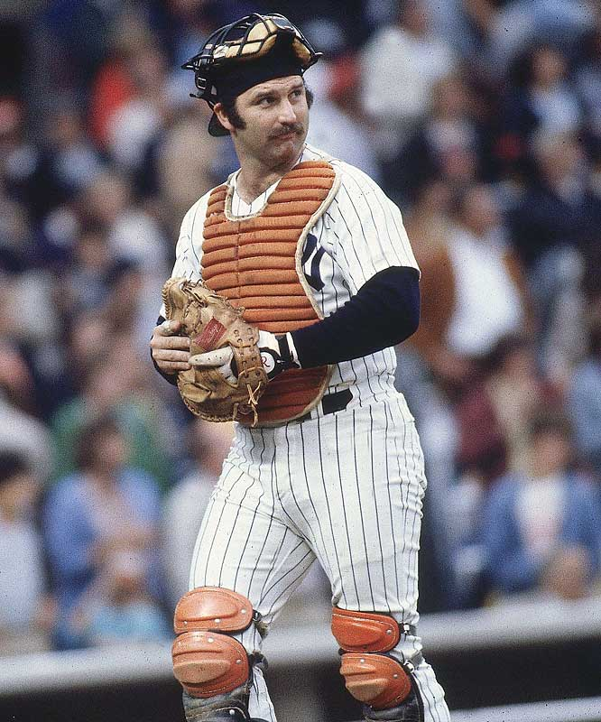 New York Yankees catcher Thurman Munson died in a plane crash in Canton, Ohio.