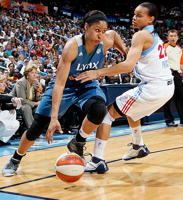 It's hard for Maya Moore to top 2011 -- after winning Rookie of the Year honors and a WNBA championship, what else is there to do? Well, win back-to-back championships, of course.