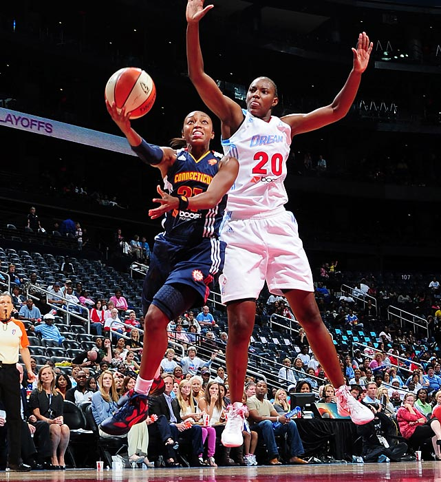 Since she joined the WNBA four years ago, Renee Montgomery has only improved. She led the Sun in averages and steals per game in arguably her best season last year.