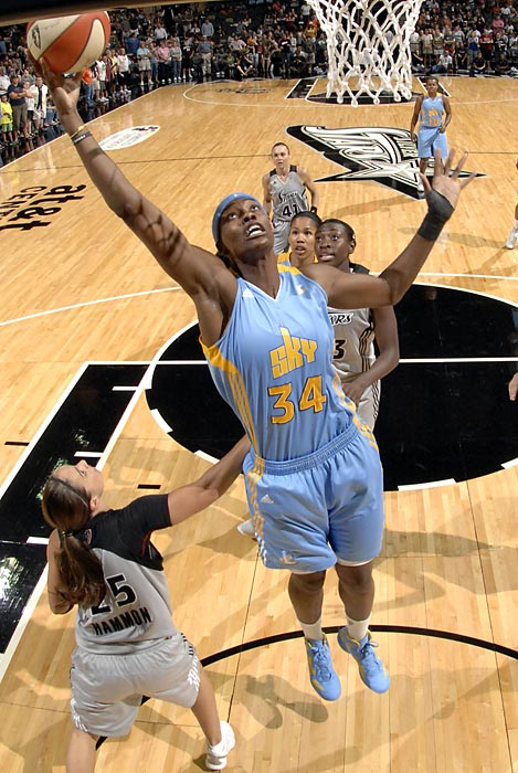 The 2011 Defensive Player of the Year will be joined in Chicago by several veterans to contribute to a team that hopes to make a  strong playoff run. Fowles, who led the Sky in points per game, rebounds per game and blocks per game in 2011, should continue to dominate in 2012.
