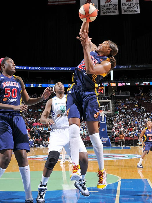 The 2011 league MVP, Tamika Catchings has won everything there is to win in the WNBA except for a league title. Last year she helped the Indiana Fever to the Eastern Conference finals, where they lost to Atlanta (Catchings was hampered by a foot injury). Will her move from small forward to power forward help the team's chances for a title?