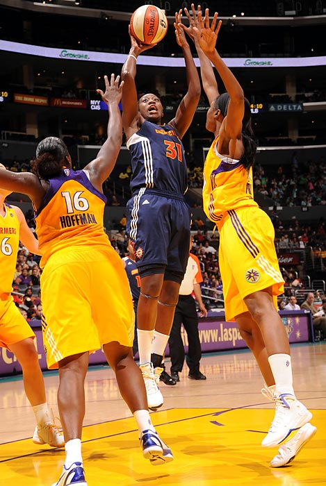 The 2010 first overall draft pick led the Sun in points, rebounds and blocks per game in her sophomore season in the WNBA. She continues to improve, and, despite being injured in the preseason, will be a driving force for Connecticut as it pushes for another playoff run.