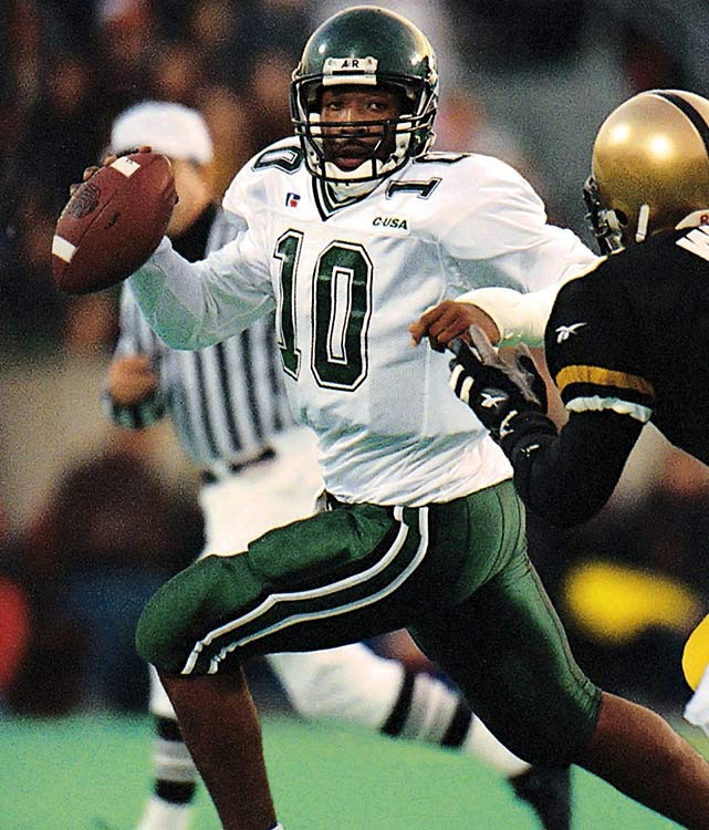 The first undefeated casualty of the BCS, Tulane's season remains a bizarre outlier in both BCS and campus history. Despite winning all of their regular season games, the Green Wave earned an invitation to the Liberty Bowl against the 9-4 BYU Cougars, whom they defeated 41-27. With two future NFL quarterbacks on the roster (Shaun King and Patrick Ramsey), Tulane had landslide success in 1998, but quickly returned to its usual ways after the departure of coach Tommy Bowden. The Green Wave have had one winning season since 1998.