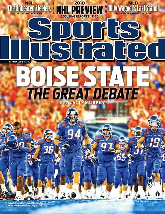 Chris Petersen and the Broncos have become the model for the non-BCS team that never gets a shot. In 2006, Boise State was seen predominantly as a good team in an easy conference until it shocked Oklahoma, 43-42, in the 2007 Fiesta Bowl. The cries grew louder in 2009, as both Boise State and TCU were undefeated and seemingly worthy contenders for the national title. Instead, the BCS pitted them against one another, quashing any speculation about how smaller-conference teams could compete with the major conferences.