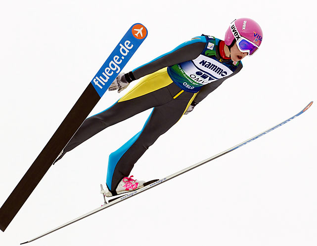 A senior at the Winter Sports School in Park City -- a program that runs April through November so students may compete during the winter months -- the 17-year old Hendrickson is the top-ranked ski jumper in the world and is the early favorite for gold at the Sochi Games. Just 5-3 and 95 pounds, Hendrickson claimed the first women's World Cup ski jumping title earlier this year after winning nine of the 13 World Cup events. She'll be eligible to compete at the 2014 Winter Olympics in Sochi as the International Olympic Committee has included ski jumping on its program. Hendrickson first tried ski jumping as a 7-year-old on a small K5 hill.