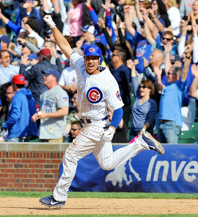 Darwin Barney of the Cubs hits a walk-off, two-run homer in the 9th inning to beat the San Diego Padres 8-6, completing a sweep.