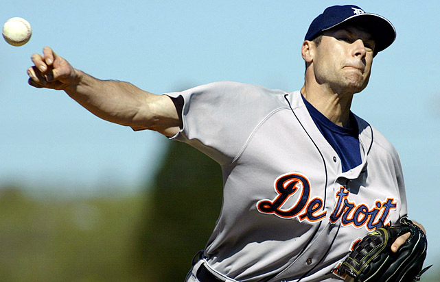 In his first season with the Tigers, Anderson showed flashes of dominance. As a 21-year-old rookie in 1998, the right-handed flamethrower had 44 strikeouts in 44 innings of work and a 3.27 ERA. He stayed in middle relief for the Tigers for a few seasons but in 2002, he tore a muscle in his armpit and was never able to reach the frightening velocity which made him one of the game's top prospects. Some have speculated that Anderson's injury was related to an octopus throwing contest Anderson competed in held by the Tigers. He claims it was related to working out. After the Tigers let him leave in 2003, Anderson pitched just six more games in the majors, posting a 12.60 ERA for the Rockies in 2005. He played professionally through 2008 and attempted to make a comeback with the Phillies last year but was released in April.