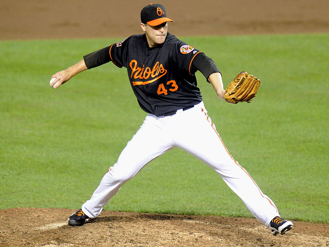 Jim Johnson got three outs for his 21st save.  Johnson has just one blown save on the season.
