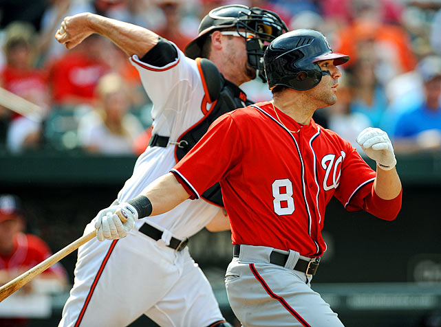 After Wieters gave Baltimore the lead, he sealed the victory in the ninth. With one out, Jim Johnson struck out Danny Espinosa and Wieters threw out Ian Desmond attempting to steal second base.