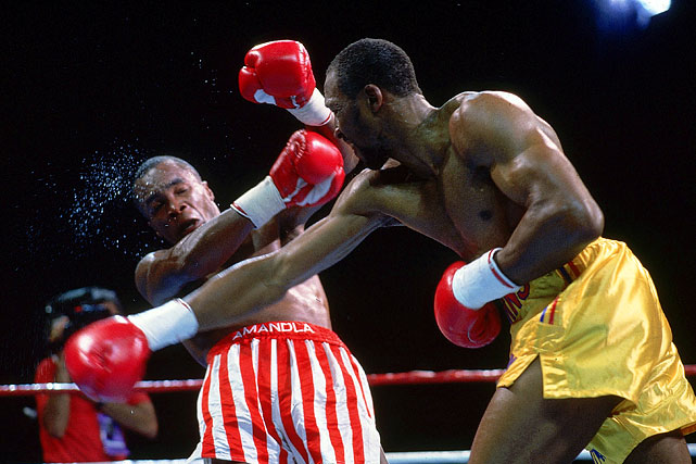 Leonard defended his super middleweight title against Hearns in a fight that not many cared about besides the fighters themselves. Although Hearns twice floored Leonard in a rematch eight years in the making, the judges scored it a draw.