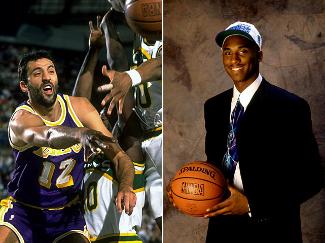 (Technically, the deal was completed on July 11, but the parameters were set down on draft night.) Front offices should have known that when then-Lakers GM Jerry West called, that they should hang up. The Hornets didn't and delivered L.A. the key to five titles in 12 years. Vlade Divac led Charlotte to a pair of short-lived playoff appearances before bolting for Sacramento as a free agent after the 1998-99 lockout. Kobe Bryant, on the other hand, has gone on to score the fourth-most points in NBA history.