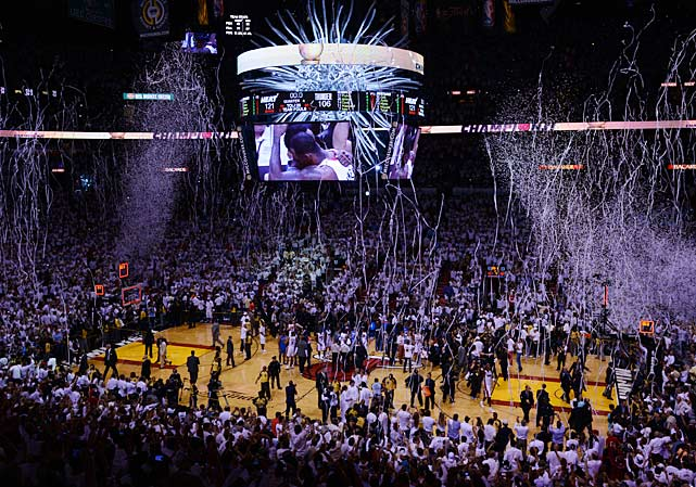 The Miami Heat won their second NBA championship Thursday night with a blowout victory over the Oklahoma City Thunder in Game 5. Here are some of SI's best shots from the game.