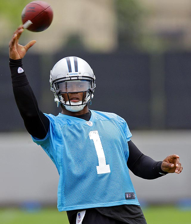 In Spartanburg, S.C., rookie sensation Cam Newton tries to avoid the sophomore slump after putting up gaudy numbers in his first year in the league.