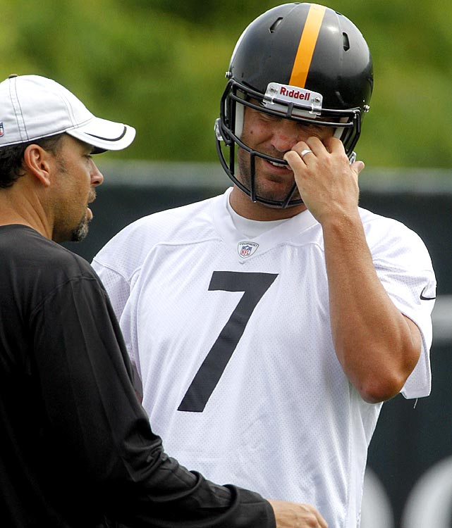 The biggest adjustment the Steelers and Ben Roethlisberger will have to make during training camp at St. Vincent College will be learning the new system under offensive coordinator Todd Haley.