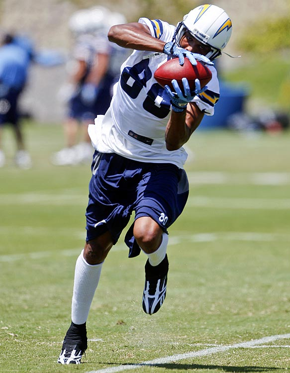 Vincent Jackson was a huge part of the Chargers offense last year, but in his absence, Eddie Royal and Malcom Floyd will be the new top receivers entering Chargers Park camp.