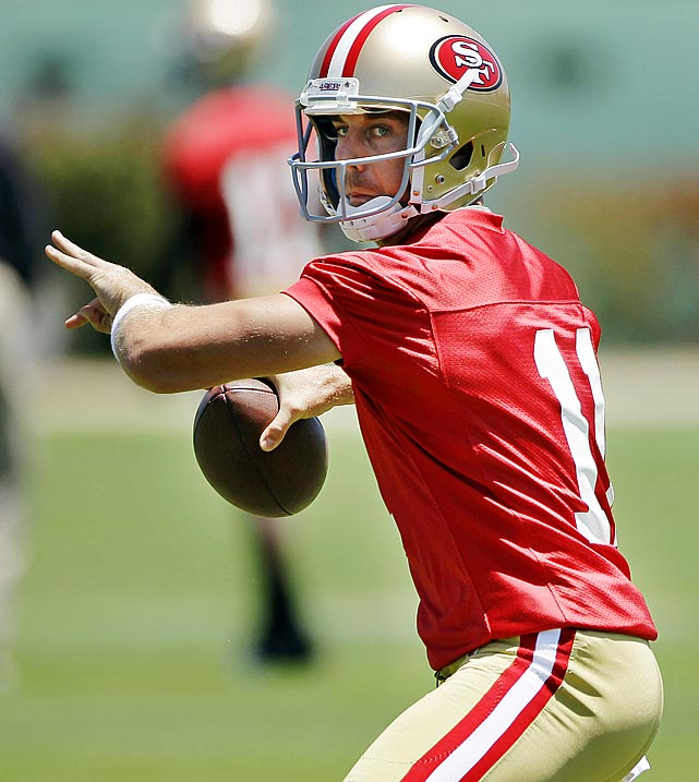 For the first time in a long time the 49ers have all the ingredients that it takes to be a Super Bowl contender coming into camp at their training facility.  If Alex Smith can put up similar numbers to last year, San Francisco's defense is more than capable of keeping it in every game.