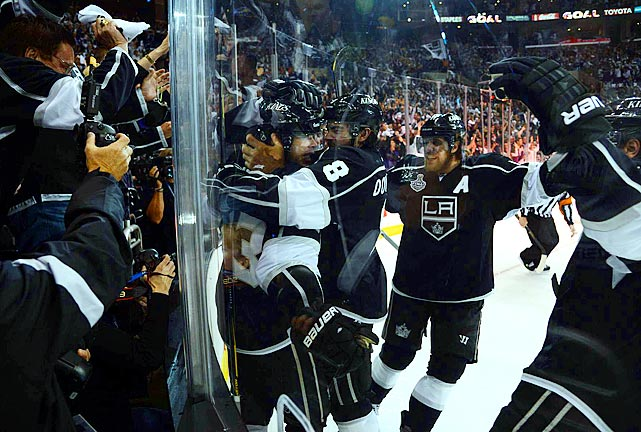 Dustin Brown, just the second American-born captain to raise the Cup after Dallas' Derian Hatcher, capped his own impressive playoff work by finishing with 20 points, tied for the postseason scoring lead with linemate Anze Kopitar.