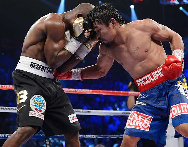 Bradley withstood all that Pacquiao delivered in the 12-round bout.