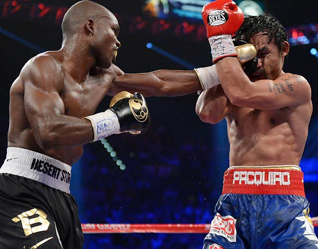 Bradley gave as good as he received against Pacquiao, who had won 15 consecutive fights, dating to 2005.