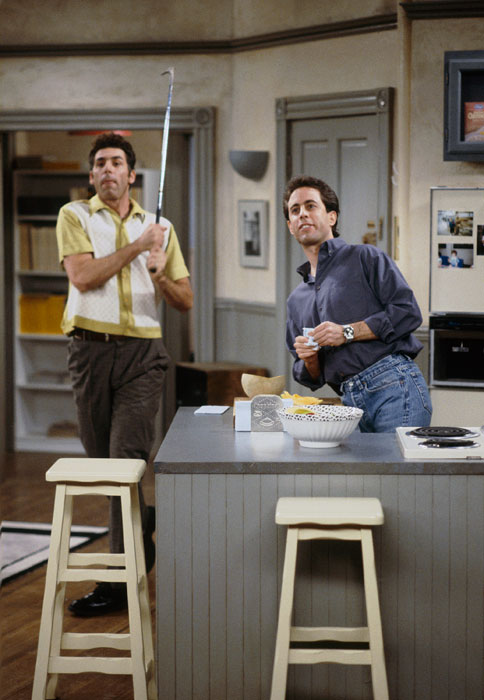 "Seinfeld  was just voted the nation's funniest all-time sitcom, just edging out  The Honeymooners , according to a survey commissioned by  60 Minutes  and  Vanity Fair . The show, which was famously ""about nothing,"" often dipped into the world of sports, particularly in New York. In honor of Jerry, George, Elaine, Kramer and the rest of the gang, SI looks at Seinfeld and sports."