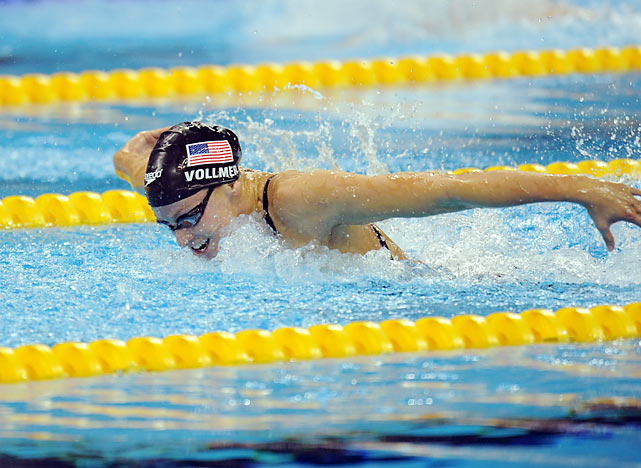 One of the more versatile swimmers in the U.S., Vollmer will likely do her best swimming in the 100- and 200-meter butterfly. The 2004 gold medalist should make her return to the Olympics after missing the 2008 Beijing games. Vollmer also stands a strong chance to qualify in the 200-meter freestyle.
