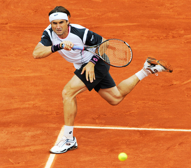 You can never rule out the workmanlike Ferrer, unless, that is, he's taking on the best player in French Open history. The Spaniard quietly blitzed his way into the semifinals, dropping just one set along the way. But Nadal was simply too strong, ousting his countryman 6-2, 6-2, 6-1.