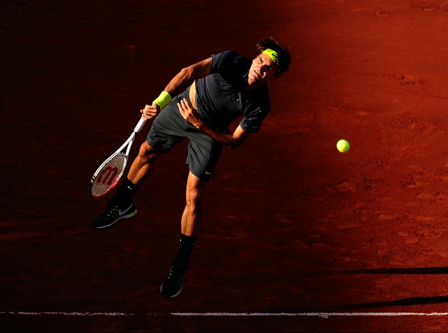 It wasn't the usual smooth-sailing for the Swiss Maestro in the early rounds. Federer dropped sets to Adrian Ungur, Nicolas Mahut and David Goffin, all matches he should have won in straight sets. Then in the quarters, Federer lost the first two sets to Juan Martin del Potro. Federer came back to win the match, the seventh time he's come back from a two-set deficit to win, but he failed to get any momentum against Djokovic in the semis.