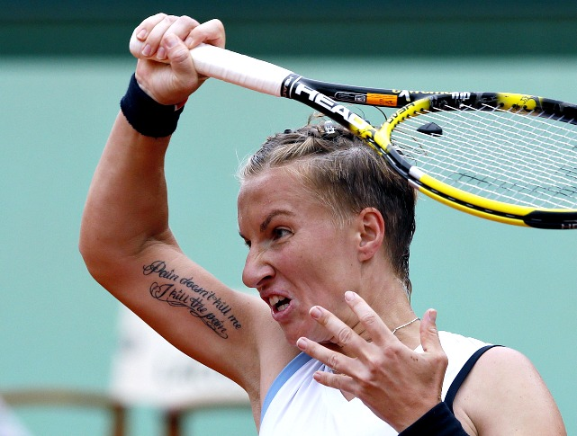 Since winning the French Open in 2009, Kuznetsova has made the quarters of a Slam just once. The 28th-ranked Russian hadn't dropped a set going into the fourth round, including steamrolling No. 3 Agnieszka Radwanska. But Kuznetsova's campaign was halted by Sara Errani in the fourth round.