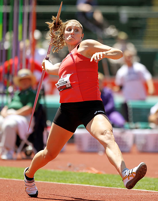 America's top female javelin throwing hopeful, the 26-year-old Purdue graduate is the U.S. record holder. After qualifying for the Beijing Games in 2008, she placed just 41st, a mark she surely intends to improve upon in 2012.