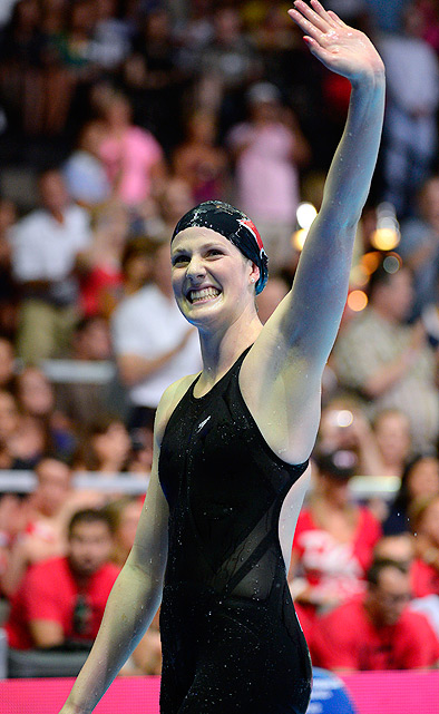 "17-year-old Missy Franklin, the first American woman to qualify for seven events, could leave London with as many as five medals. Nicknamed ""Missy the Missle,"" Franklin holds the American record in the 100-meter back, and teammate Natalie Coughlin thinks Franklin's energy and enthusiasm will help her take home gold in the Games."