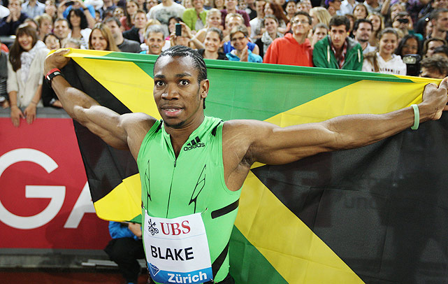 "Jamaican star Yohan Blake is going to give Usain Bolt a run for his money in London. Bolt and Blake have been training together for four years, and as far back as 2008, Bolt was telling the media to ""keep an eye"" on Blake. The first-time Olympian won the 100- and 200-meter sprints at the Jamaican Olympic Trials after besting Bolt in the 100 at the 2011 world championship. With Bolt ailing, Blake could be the one to beat in the 100."