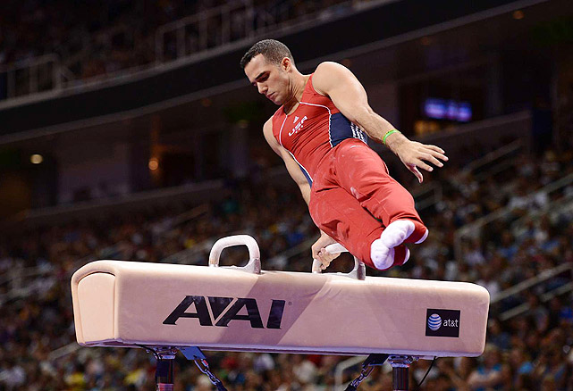 A Cuban-born gymnast who defected to the United States with his family, Leyva became the youngest member of the U.S. national team in 2009 when he was just 17 years old. In 2011, he was the U.S. national all-around gold medalist and the 2011 world champion on the parallel bars. Most recently, he defeated American teammate John Orozco to take top prize at the U.S. Olympic Trials, and as a high bar specialist, should also compete for gold in that event in London, as well.