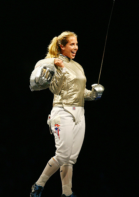 Making her third Olympic appearance, the 27-year-old Oregon native will attempt to defend her two-time individual fencing sabre gold medal in London. She was also a member of the team sabre bronze-winning American team in Beijing in 2008.