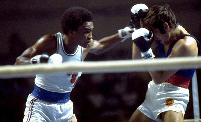 Sugar Ray Leonard and Michael and Leon Spinks led a team that picked up seven medals, including five gold in 1976. Four members on the team would go on to hold professional boxing world titles.