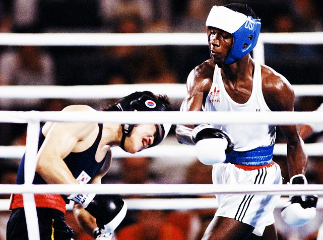 American Olympic boxing had another outstanding team during the 1984 Olympics in Los Angeles. Competition took place across 12 weight classes and the United States medaled in all but one, earning nine gold, one silver, and one bronze.