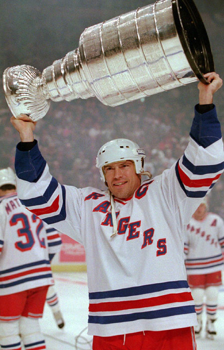 Messsier, who won the Stanley Cup six times, made headlines when he brought the Cup to his favorite strip club in Edmonton, the Forum Inn, after the Oilers won the championship in 1987. In 1994, after winning it again with the Rangers, he took the Cup to Scores in Manhattan. The NHL subsequently assigned a handler to travel with the trophy at all times and banned strip clubs for the Cup.