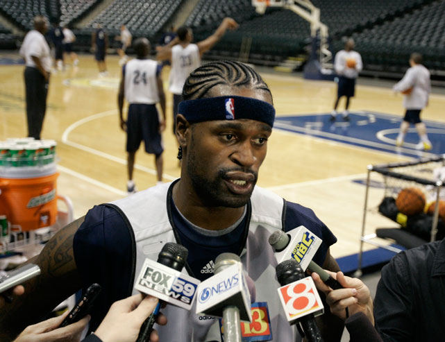 Jackson was already on the NBA's bad side for his part in the 2004 Pistons-Pacers brawl when he visited an Indianapolis strip club and allegedly fired five shots from a 9-mm pistol in what he claimed was self-defense after being hit by a car. Jackson pled guilty to a felony charge of criminal recklessness and served a seven-game suspension in 2007.