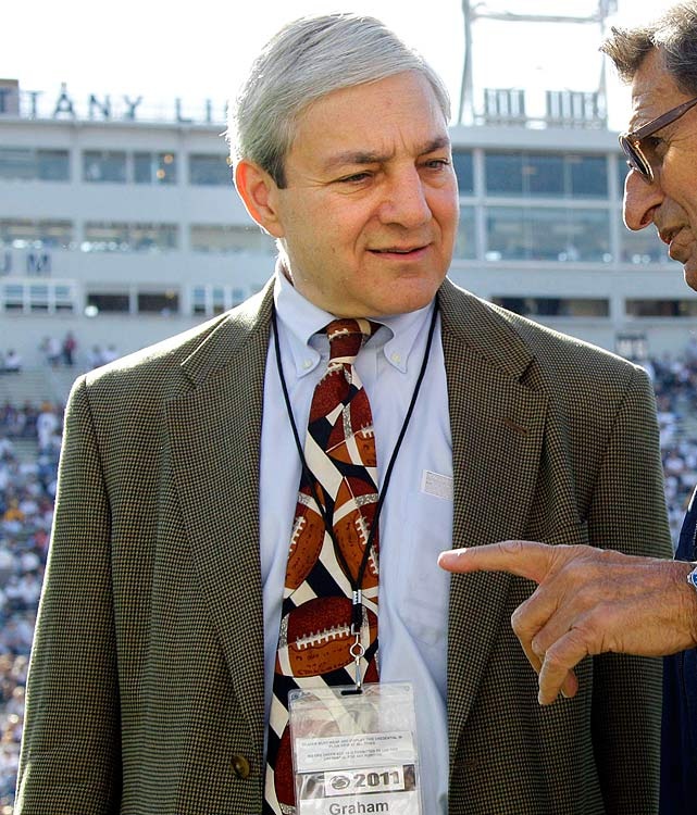 Role:  Penn State's longtime president, he was forced out by university trustees after Sandusky's arrest in November but remains a tenured faculty member.   Background:  An investigation led by ex-FBI director Louis Freeh concluded that Spanier failed in his duties as president by not informing the board of trustees about the allegations against Sandusky or about the subsequent grand jury investigation. Spanier told investigators he wasn't notified of any criminal behavior by Sandusky during his 16 years as president. He has not been charged with any crime.