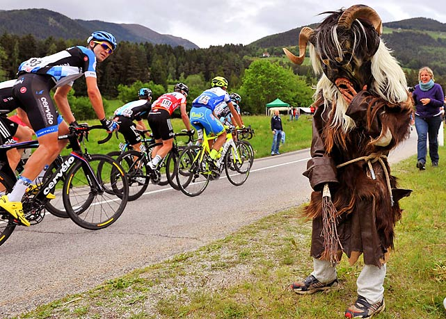 Bet you didn't know that Bigfoot is a cycling fan.