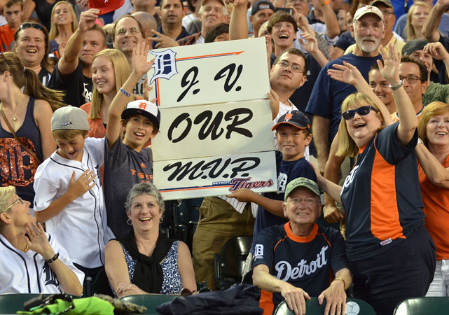 Justin Verlander won't win the MVP again this year, but he has this fan's support.  i am s