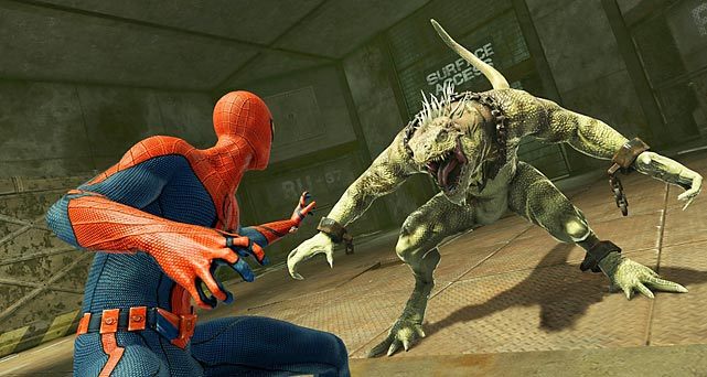 It's perhaps unfair that every superhero game released from here on out has to be compared to the two recent Batman games, which were both at the top of their genre. On the other hand, when a game like The Amazing Spider-Man borrows from the Arkham Asylum legacy so often, it's impossible not to make the comparison. This latest Spider-Man game borrows elements that have become familiar to every recent Spider-Man game -- in particular the more-or-less open world Web-swinging -- and marries it with a very Arkham-esque fighting engine.   The story picks up a soon after the events of the recent movie (yes, there are spoilers; no, none of them are actually surprising) and expands the Spider-Man universe to include numerous other modernized Spider-Man villains. Unfortunately, most of the combat takes place indoors, where camera issues are at their worst, but the gameplay is forgiving enough that players will rarely feel particularly overwhelmed. The graphics are acceptable, though animation transitions during fights are much less fluid than in Batman. There's an absurd number of collectables, but only the most dedicated will be motivated to search for them. For Spider-Man fans, particularly those who enjoyed the movie, the game is probably an enjoyable playthrough, though there's very little that stands out about it.   Score: 6 out of 10