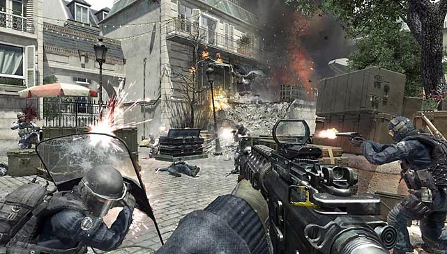 Activision isn't standing pat on the strong domestic sales of its' popular third-person shooter. The company has unveiled plans to export Call of Duty to China, where it hopes to expand its international footprint later this year. Unlike the market in the United States, where consumers are used to dropping $60 on games, in China there's isn't a large installed base of consoles. Instead, Activision is targeting audiences at Internet Cafés by making Call of Duty free-to-play and online only. The game will feature a different storyline designed to appeal to Chinese consumers. Activision will look to profit by offering in-game purchases -- which have proven successful in China -- potentially for additional content like weapons, maps and gear.