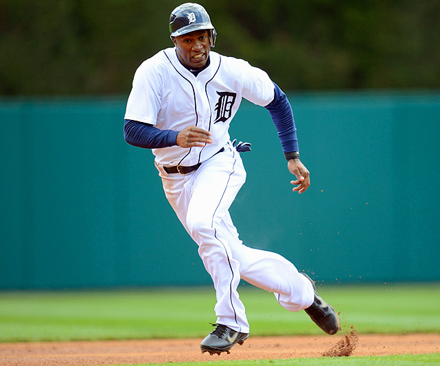 The centerpiece in the trade that sent Curtis Granderson to New York, Jackson has provided stability at the top of an otherwise underachieving Tigers' lineup. At the break, he leads the Tigers with a .332 batting average and is second in the American League with a .408 on-base percentage.