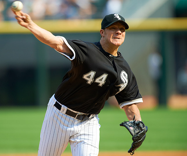 Add the 2007 NL Cy Young Award winner as another player reinventing his career with the White Sox. Peavy was named to the 2012 All-Star team after finishing the first half 7-5 with a 2.85 ERA and a WHIP below 1. Unable to notch a postseason win during his best years in San Diego, Peavy appears fully healthy for the first time since 2008 and primed to take the White Sox to an AL Central title.