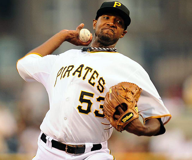 "Once a bright prospect for the Los Angeles Dodgers, McDonald has effectively reinvented his career in Pittsburgh and helped the Pirates to the top of the NL Central. McDonald is 9-3 with a 2.37 ERA and leads the National League in hits per nine innings. McDonald's name was frequently mentioned as one of the more egregious All-Star ""snubs."""