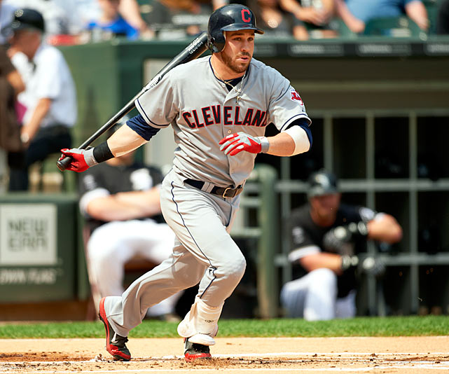 Kipnis is quickly emerging as one of the top young second basemen in the game and is forming a strong middle infield combo with All-Star shortstop Asdrubal Cabrera. Kipnis reached the break third in the American League in stolen bases (20) and had only been caught once.