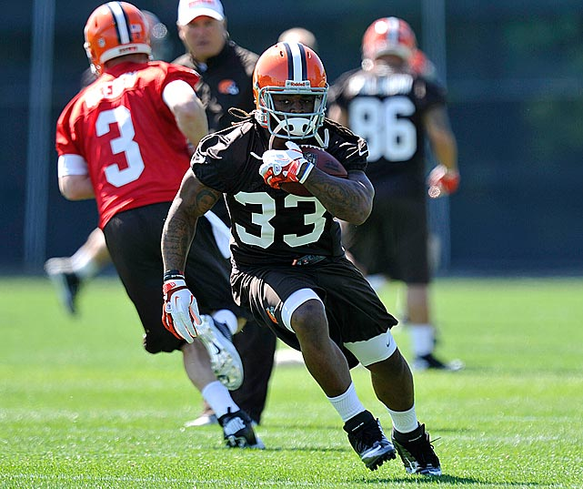 "The Browns were in desperate need of offensive playmakers entering the 2012 season, and it made it a priority to get Trent Richardson, even trading up from No. 4 to No. 3 to ensure his services. But the pick has been met with a ton of criticism from team legend Jim Brown, who called the rookie ""ordinary."" The Browns need Richardson to be extraordinary if they're to emerge from the doldrums this year."