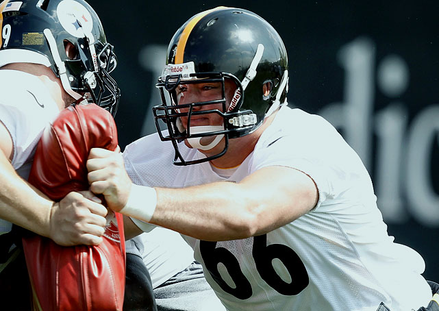 David DeCastro was considered by many draft experts to be one of the best talents available in April, but fell to the Steelers with the 24th pick in the first round.  He is a tremendous run blocker and very quick to get to the next level, especially when you consider the fact that he is 6'5'', 315 pounds.  This bodes very well for the Steelers' hard-nosed run game.