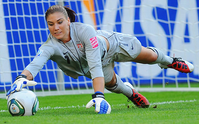 Solo was the best goalkeeper at the 2011 World Cup and returns as the clear U.S. No. 1 in net. She made headlines earlier this month for a positive drug test, though due to the nature of the substance she remained eligible to play in the Olympics.