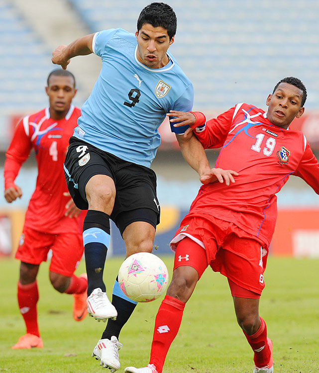 Suarez is one of the most polarizing players in the world, best known internationally for his intentional handball in the 2010 World Cup quarterfinals against Ghana. He was also the MVP of 2011 Copa America, won by Uruguay.